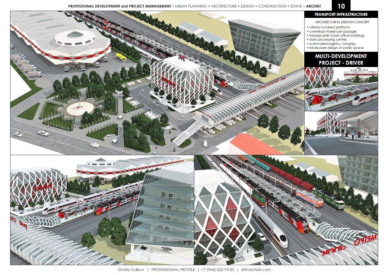 archidi.com - PORTFOLIO - Transport infrastructure